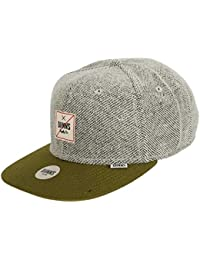 Djinns Herren Caps / Snapback Cap 6P Rip Jersey olive Verstellbar