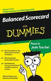 Balanced Scorecard für Dummies von [Griga, Michael, Krauleidis, Raymund]