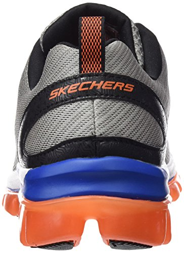Skechers (SKEES) Skech-air 2.0- Zero Gravity, baskets sportives homme gris (LGOR)