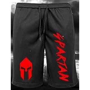 GODSRAGE Spartan Limitiert Fitnessbekleidung Shorts T-Shirt Training Sport Bodybuilding Fitness Freizeit
