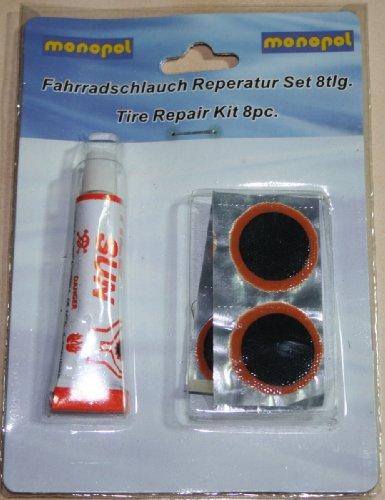 Fahrradschlauch Reparaturset 8 teilig (8223)