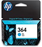 HP 364 Blau Original Druckerpatrone für HP Deskjet, HP Officejet, HP Photosmart