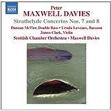 Maxwell Davies: Strathclyde Concertos 7 & 8 [Peter Maxwell Davies, Duncan McTier] [Naxos: 8572355]
