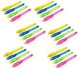 15 Stück Geheimstifte, mit UV Licht, Unsichtbar Schreiben, Geheime Nachrichten, Geheim Stift