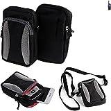 K-S-Trade Belt bag, holster/shoulder bag for Ruggear RG760,