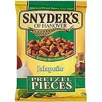 Snyder\'s Jalapeño Pedazos De Pretzel 125g (Paquete de 6)
