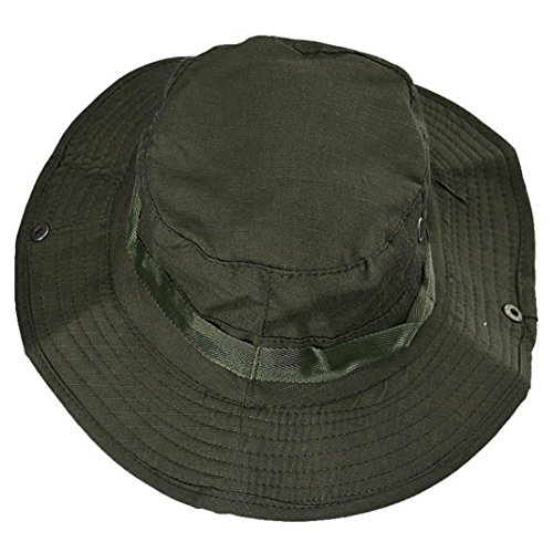 erthome Cap, Bucket Hut Boonie Jagd Angeln Outdoor Cap Krempe Militär Armee Kappe, Herren Damen Camping Klettern Kappen (Armee-Grün)