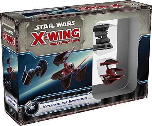 (Asmodee HEI0453 Star Wars X-Wing: Veteranen des Imperiums Erweiterung, Spiel)