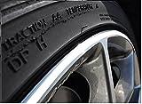 7mm Weiß Felgenrand Aufkleber 10-24 Zoll Radgröße passend für Motorrad und Auto geeignet