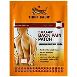 10 parches grandes de Balsamo de Tigre para la espalda - Tiger balm back medical plaster parch 10 units