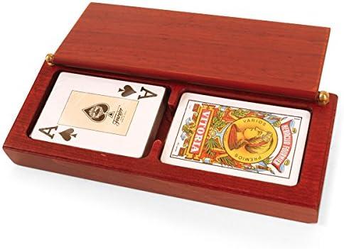 Jeux Jeux Jeux de l'Antiquité – Jeu de Cartes de Cartes, Couleur Bois Bois Rouge (Games Pic Pao 190) B07D43D818 a6e224