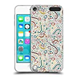 Offizielle Pom Graphic Design Blumiger Sommer Muster 2 Soft Gel Hülle für Apple iPod Touch 5G 5th Gen