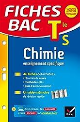 Fiches bac Chimie Tle S (enseignement spécifique): fiches de révision - Termimale S