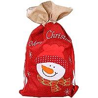 3er Set Geschenktasche Weihnachtsgeschenktüte H:23 cm Geschenktüte Pinguin
