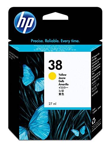 HP 38 Cartouche d'encre d'origine Jaune