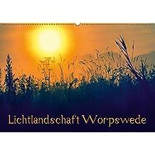 Lichtlandschaft Worpswede (Wandkalender 2017 DIN A2 quer): Lichtdurchflutete Fotos der Landschaft um Worpswede im Teufelsmoor (Monatskalender, 14 Seiten )