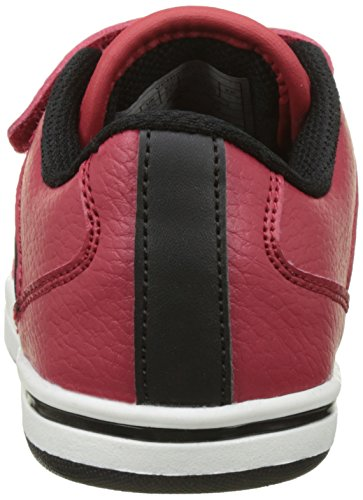 Levi's Chicago Velcro, Baskets Basses Garçon Rouge (Red)