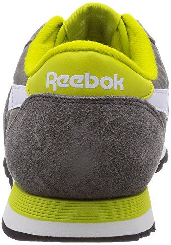 Reebok Classic Nylon RS v66930Scarpe da ginnastica, RRP £45 Grigio