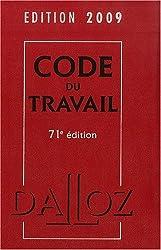 Code du travail 2009