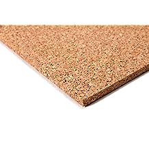 acerto24 - Planchas de corcho (50 x 100 cm, 10 mm grosor, elásticas y antiestáticas)