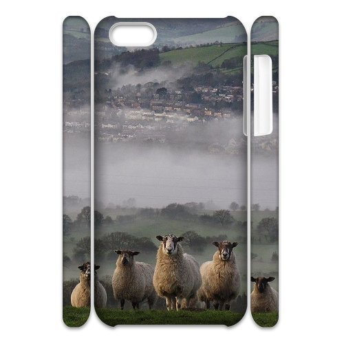 LP-LG Phone Case Of Sheep For Iphone 4/4s [Pattern-6] Pattern-2