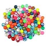 "Schramm Onlinehandel 0546 - Bote con 100 pelotas ""Flummi"", 20 mm, varios colores mezclados"