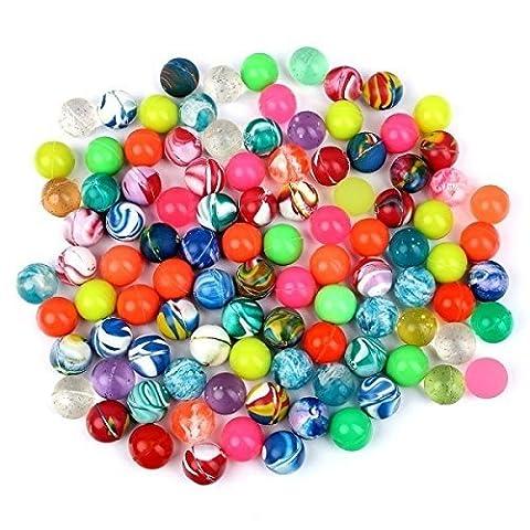 Balles Rebondissantes - S/O Lot de 100balles rebondissantes Mélange multicolore