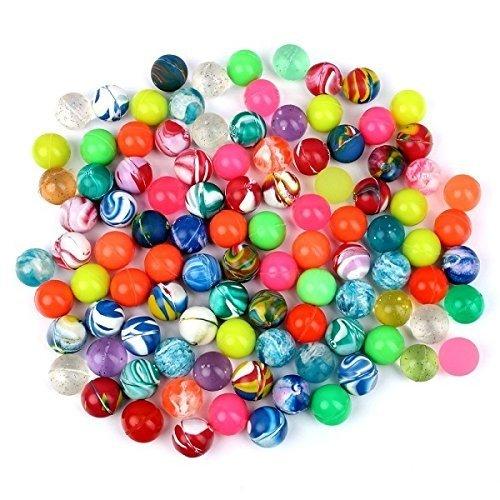 S/O 100er Pack Flummis Bunt gemischt 20mm Flummis Springball Hüpfball Mitgebsel Tombola Kindergeburtstag