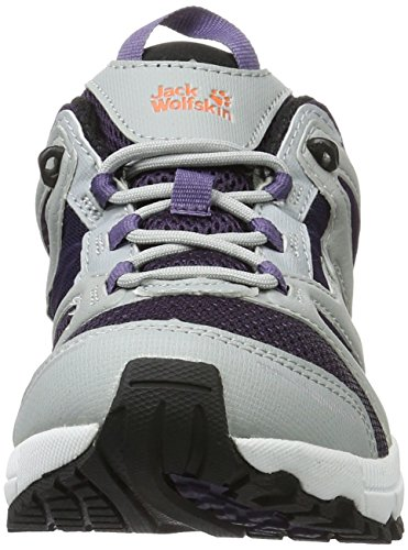 Jack Wolfskin Damen Speed Liner Women Traillaufschuhe Grau (Prune)