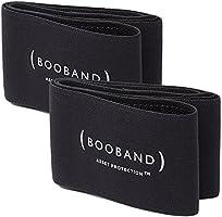 Booband Verstellbares Brustkompressionsband / Brust Unterstützung Band als Alternative zum Sport-BH, Schwarz Bundle