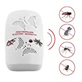 #9: Generic EU Electronic Ultrasonic Rat Mouse Repellent Indoor Anti Mosquito Insect Pest Killer Repeller