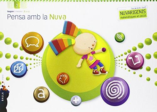 Pensa amb la Nuva 3 anys 2n trimestre Nuvarigenis Infantil (Projecte Nuvarigenis) - 9788447928941
