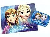 Disney Die Eiskönigin WD19468 Tischset und Brotdose, Kinder, mehrfarbig, Elsa, Anna