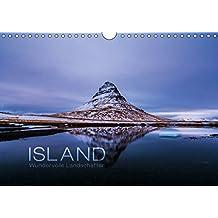 Island - Wundervolle Landschaften (Wandkalender 2019 DIN A4 quer): Jeden Monat ein Stück Island - von den Westfjorden über Snaefellsnes und die ... (Monatskalender, 14 Seiten ) (CALVENDO Natur)