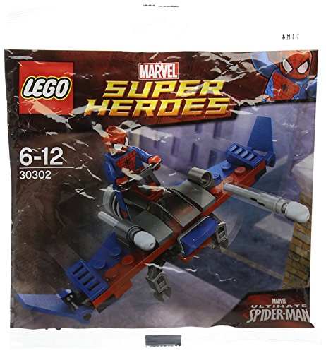 LEGO Super Heroes: Spider-Man Planeador Establecer 30302 (Bolsas)