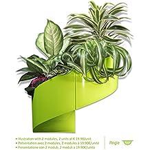 Modul'Green - Vaso per piante a muro Design - Interno / Esterno - Verde