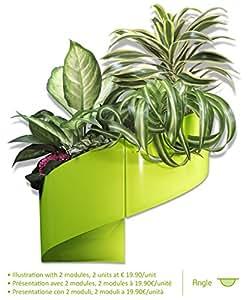 Modul'Green - Pot pour plantes mural Design - Intérieur / Extérieur - Vert