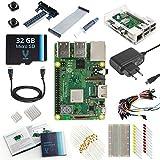 V-Kits Raspberry Pi 3 Model B+ (Plus) Ultimate Starter Kit (EU Edition) -Enthalt: Raspberry Pi 3 Model B+ (Plus) mit 12 Wesentlich Zubehö