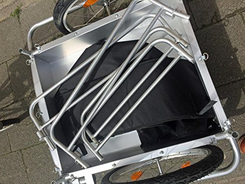 Red Loon Cargo Fahrrad Anhänger Transportanhänger Alu Felgen 144 l extrem leicht - 6