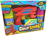 Grafix Crazy Silly String Shooter Spray Gun Blaster - 2 Cans Included