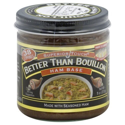Better Than Bouillon Ham Base 8.0 OZ (Pack of 2) by Better Than Bouillon 8 Oz Bouillon