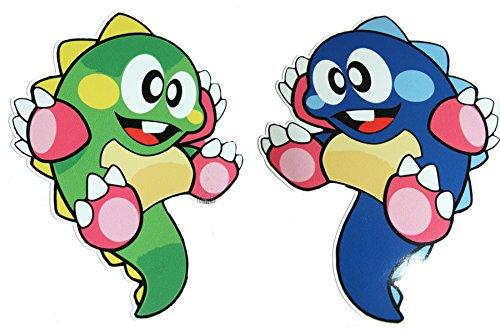 bubble-bobble-classic-video-arcade-game-decal-sticker-lot-of-2