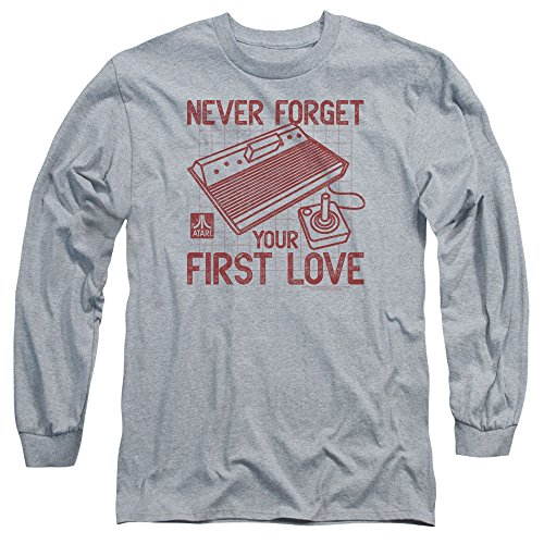 Atari Herren Langarmshirt Athletic Heather