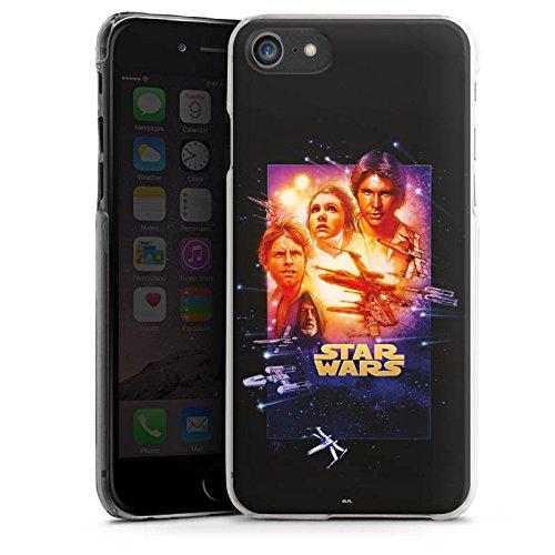 Apple iPhone X Silikon Hülle Case Schutzhülle Star Wars Merchandise Fanartikel A New Hope Special Edition Hard Case transparent