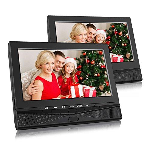 10 Zoll DVD Player Auto Tragbarer Fernseher Kopfstütze