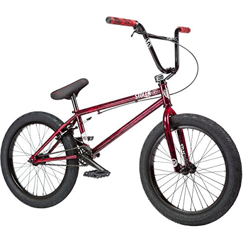 "Stolen Heist BMX bike 2017 21"" top tube redrum"