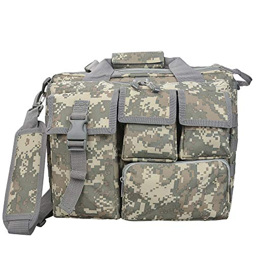 Fjiujin,Outdoor-Reisen Multifunktions-Kit Multifunktions-Computer-Tasche Tragbare Camouflage-Multifunktions-Outdoor-Tasche(color:ACU Farbe (Vorverkauf))