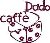 150 Cialde Dado Caffè miscela Vellutata (100%Arabica) in carta filtro da 44 mm