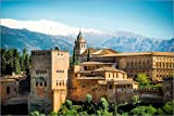 Poster 60 x 40 cm: Alhambra in Granada von Editors Choice -