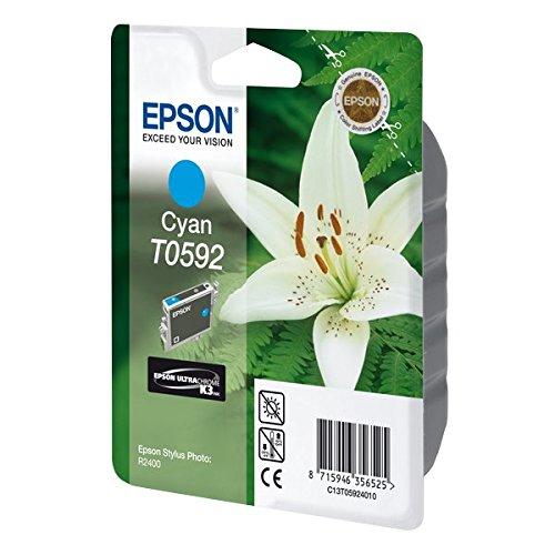 Preisvergleich Produktbild Epson T0592 Tintenpatrone Lilie, Singlepack cyan